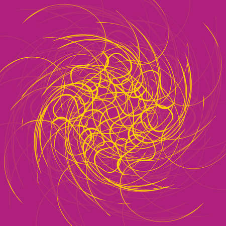 Fondo ondulato astratto, futuristico forme illustrazione. Archivio Fotografico - 26527960