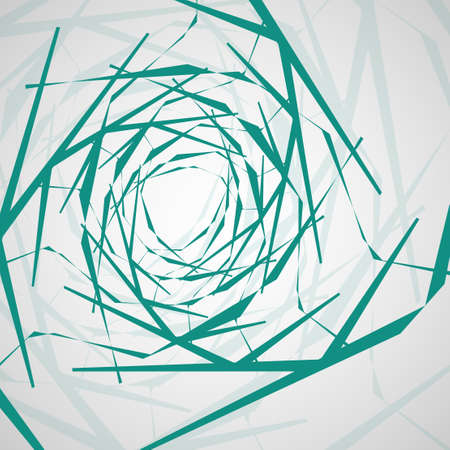 Abstract wavy background, futuristic shapes illustration.