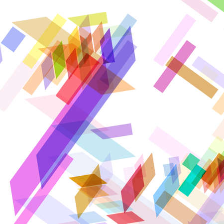 parallelogram: Abstract geometric shape, color background