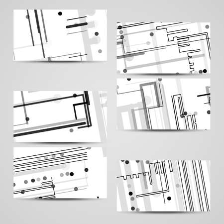Vector business card set for your design circuit board illustration vector business card set for your design circuit board illustration stock vector colourmoves