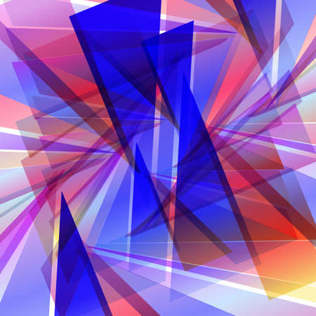 Abstract futuristic background, dynamic illustration. Vector