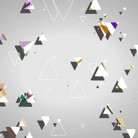 Formas geométricas abstractas, ilustración dinámico. Foto de archivo - 29228625