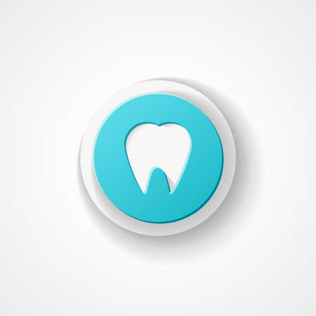 mouth screen: Tooth web icon