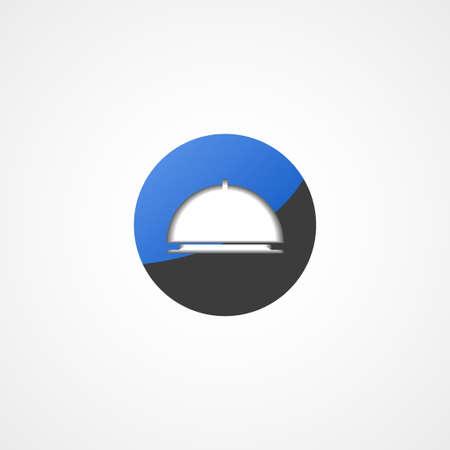 bandeja de comida: Alimentos icono web bandeja