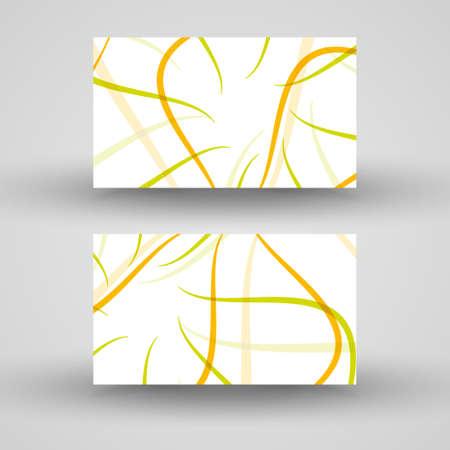 businesscard: Vector business-card  set for design