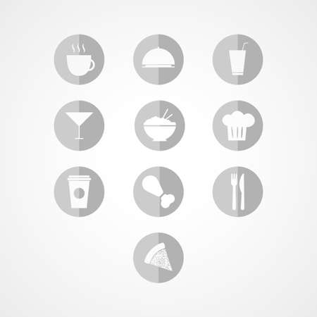 nibble: Food  web icon Illustration