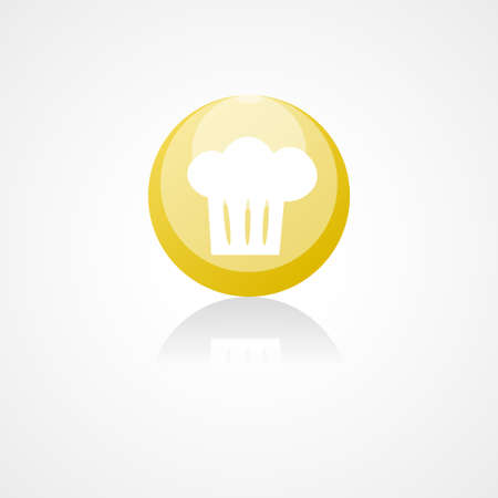 speciality: Cooking cap web icon