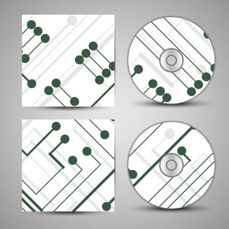 Vector cd cover  set for your design 向量圖像