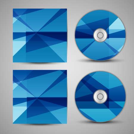 cd r: Vector cd cover  set for your design Illustration