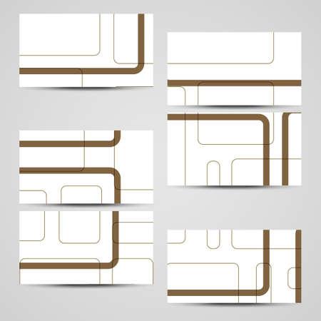 businesscard: business-card set