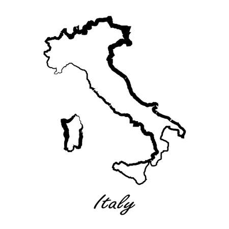 etna: Map of Italy for your design