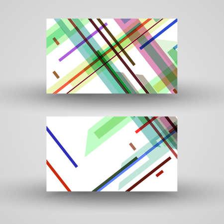 jammed: Vector business-card  set for your design Illustration