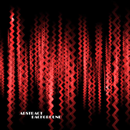 zig: Abstract colorful background with zig zag lines