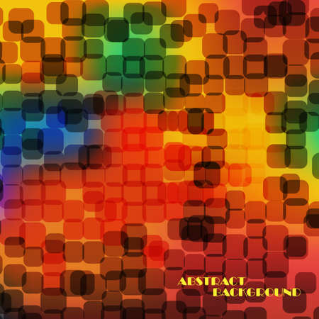 swagger: Abstract colorful  square background Illustration