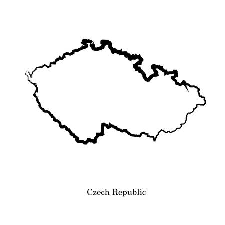 delineation: Czech Republic of africa for your design