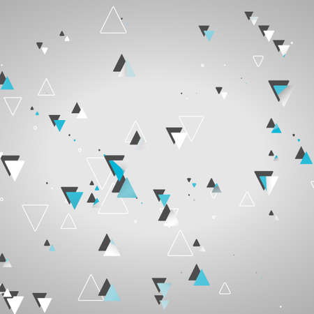 Abstract geometric shapes Stock Illustratie