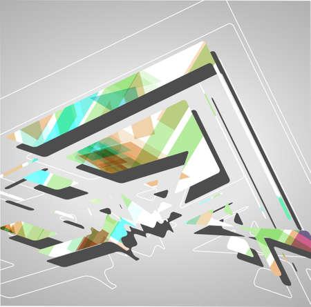 din�mica: Ilustra��o din�mica futurista Fundo abstrato. Ilustra��o