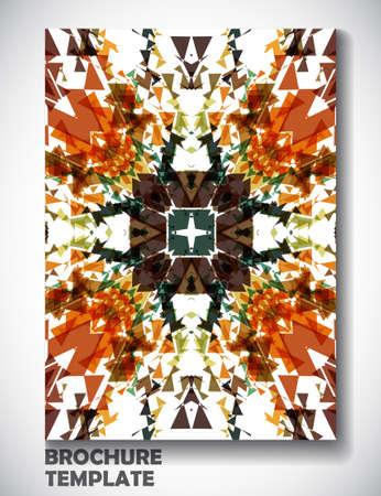 portadas de libros: Modelo del folleto de colores de fondo, ilustración de arte vectorial