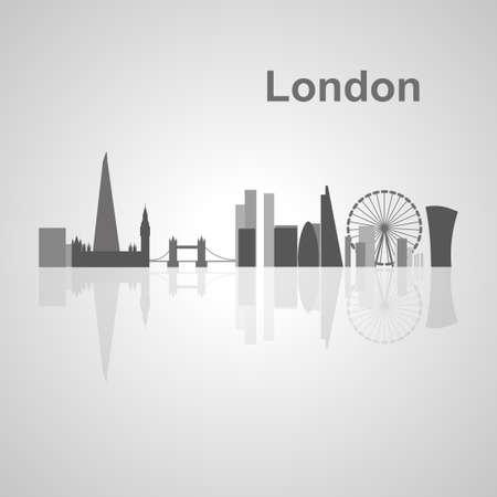 あなたの設計、概念図のためのロンドンのスカイライン。