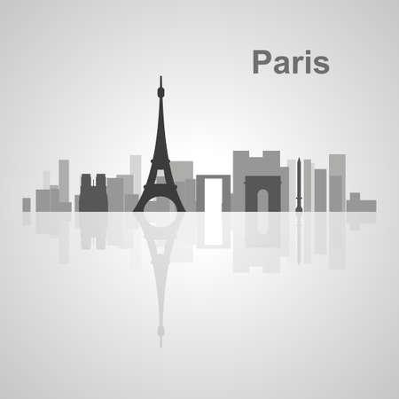 paris skyline: Paris skyline  for your design, concept Illustration.