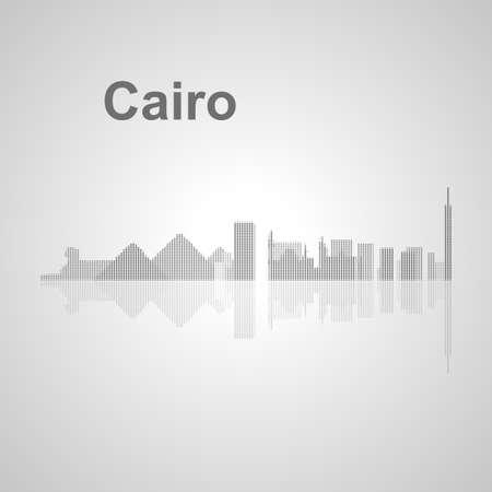 cairo: Cairo  skyline  for your design, concept Illustration. Illustration