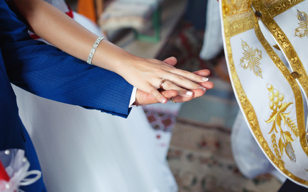 refinement: wedding ceremony in church