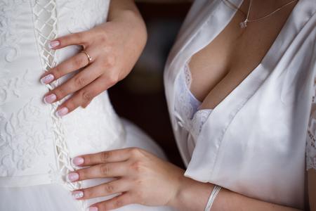 エレガントなウェディング ドレス