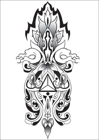 abstract art: abstract tatto art