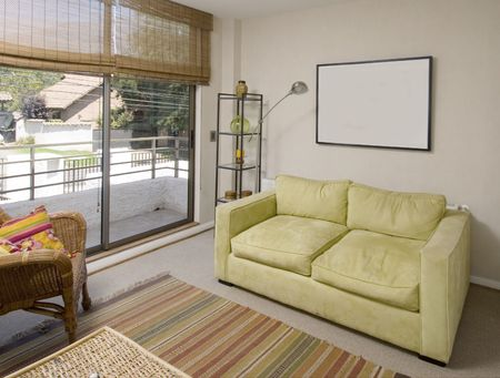 way of living: lounge of a second floor of a brand new house