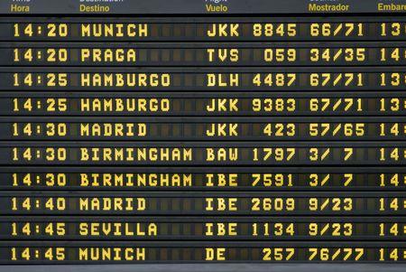 timetable: Orario di partenza a barcellona aeroporto  Editoriali
