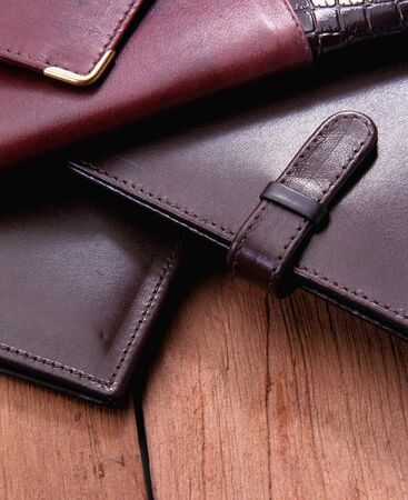 leather wallets still life Stock Photo - 883518