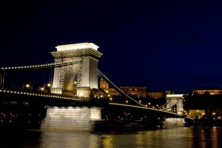 buda: Palais de Buda et le Pont de Cha�ne