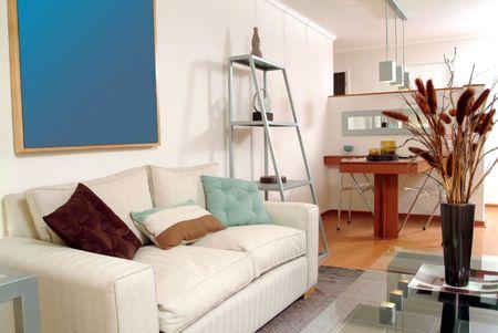 interior of modern salon decorated with tasteful Stock Photo - 2050839