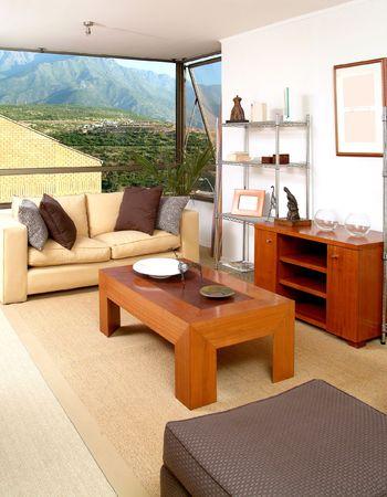 interior of modern salon decorated with tasteful Stock Photo - 2050863