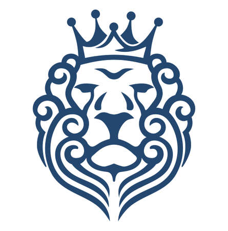crown king: LION KING HEAD