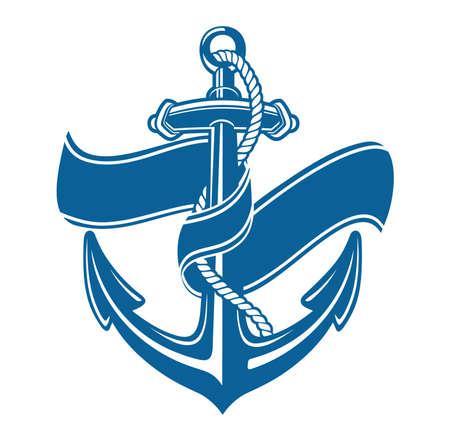 anchor vintage Vector