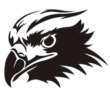 vector design eagles head