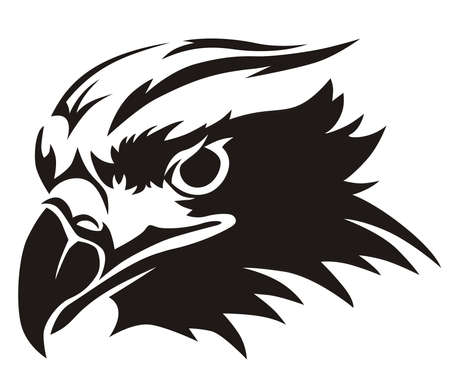 vector design eagles head