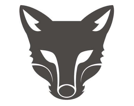 design vector wolf head