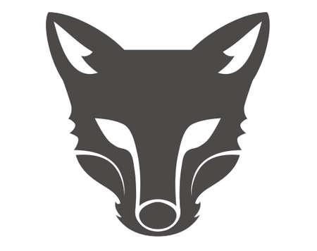 animal heads: design vector wolf head