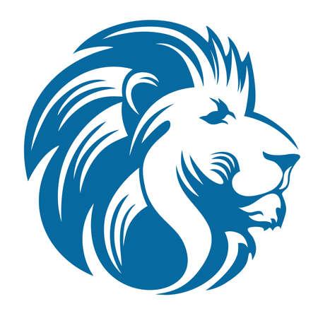 lion head cool Иллюстрация