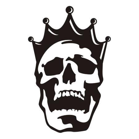 Skull head king