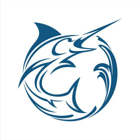Marlin fish water