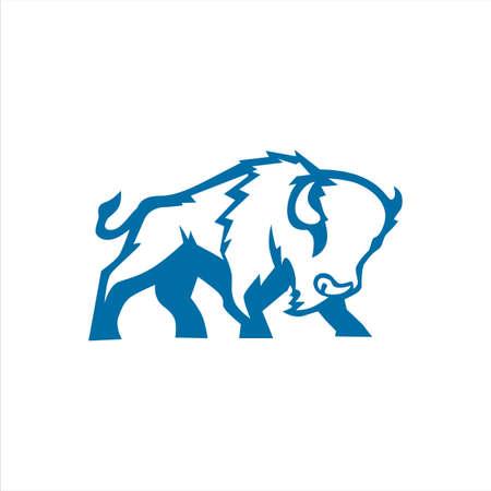 Bisonte blu