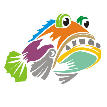 Grouper fish colors full