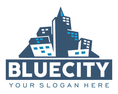 Blue City Illustration
