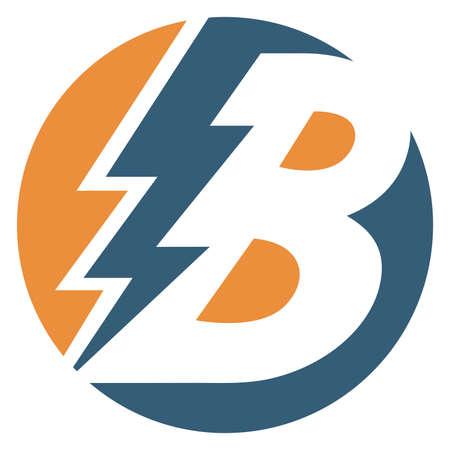 Bolt letter B 版權商用圖片 - 120714087