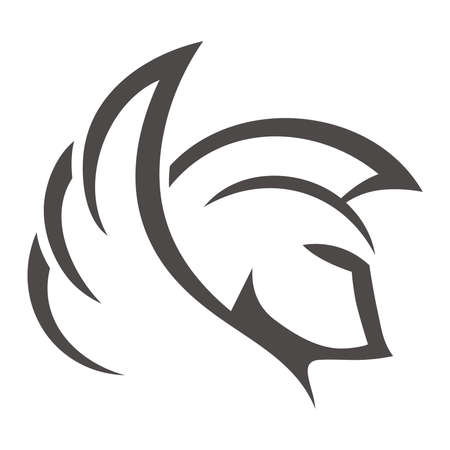 Spartan Wing Illustration