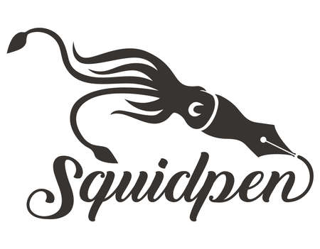 Squid pen and Typography