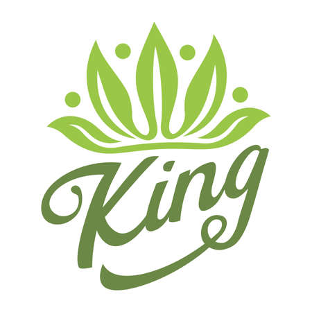 Crown leaf king